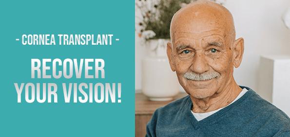 Ad Cornea Transplant procedure