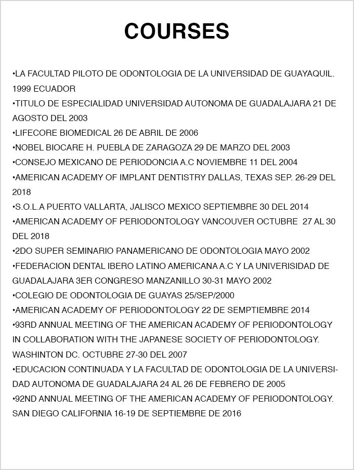 Ajijic dentist certificate
