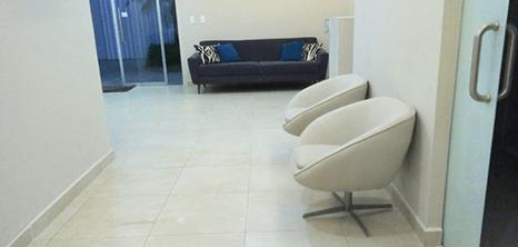 Cancun plastic surgery clinic lobby