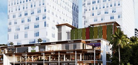 Cancun Gynecology clinic entrance