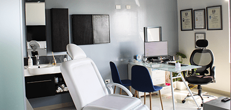 Cancun otolaryngology clinic station