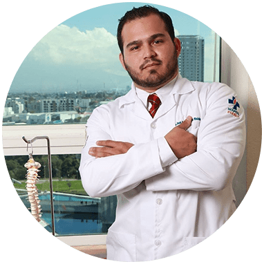 Chiapas orthopedist doctor smiling