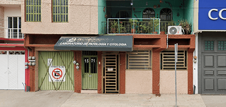 Chiapas orthopedist clinic entrance