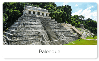 Archeological site of Palenque