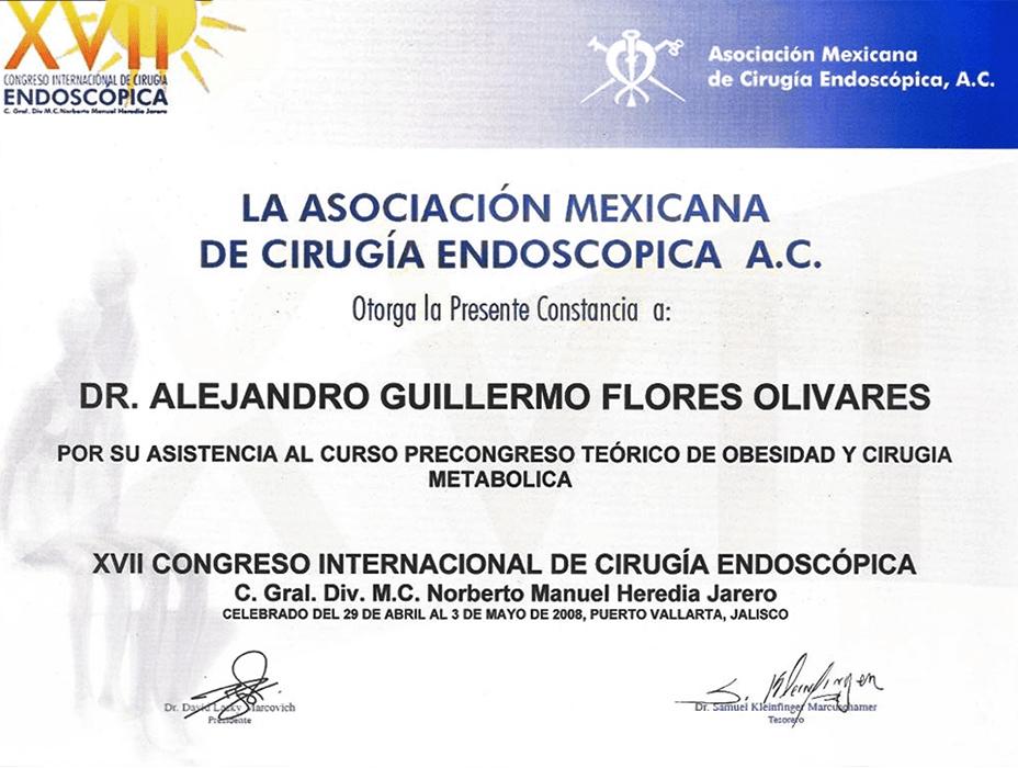 Ciudad Juarez bariatric doctor certificate