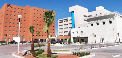Ciudad Juarez orthopedist clinic entrance