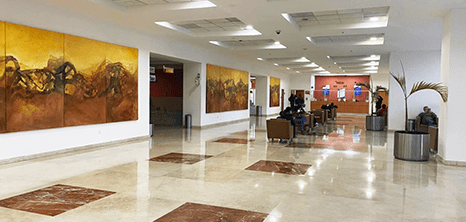 Ciudad Juarez Urology clinic lobby