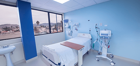 Ensenada Hospital recovery room