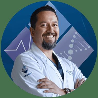 Guadalajara bariatric doctor smiling