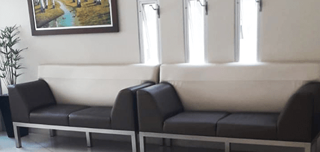 Guadalajara Cardiology clinic lobby