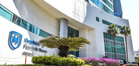Guadalajara neurosurgery clinic entrance