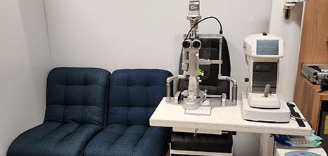 Guadalajara ophthalmologic clinic lobby