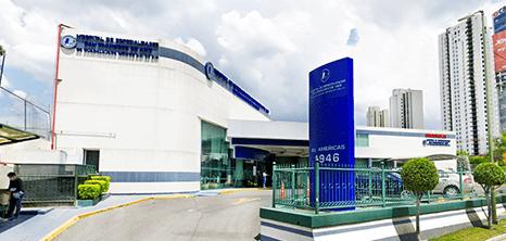 Guadalajara Oncology clinic entrance