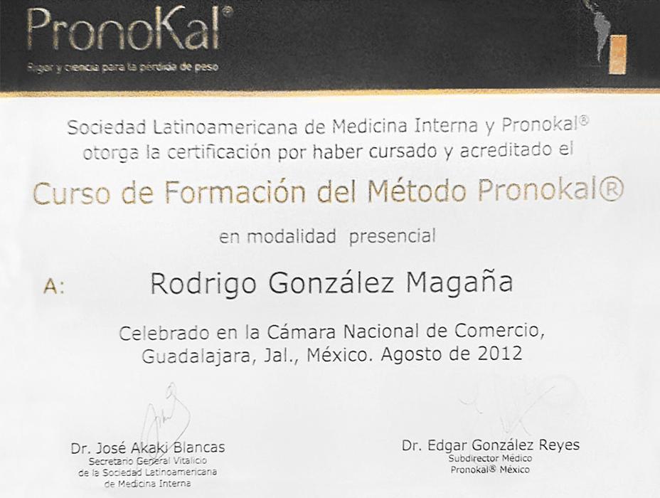 Guadalajara aesthetic doctor certificate