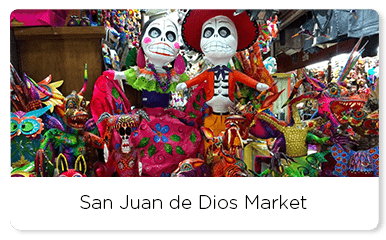Colorful Mexican art crafts