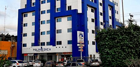 Mazatlan Cardiology clinic entrance