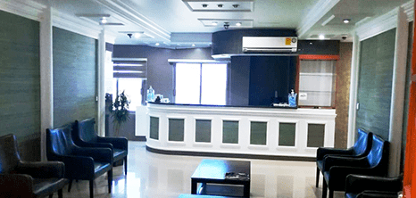 Mazatlan Cardiology clinic lobby