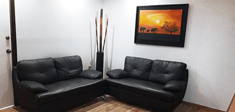 Mazatlan plastic surgery clinic lobby
