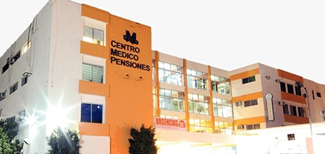 Merida orthopedist clinic entrance