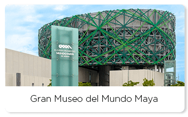 Front view of the Gran Museo del Mundo Maya
