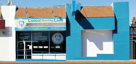 Mexicali maxillofacial clinic entrance