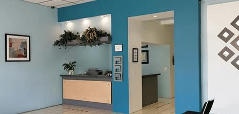 Mexicali maxillofacial clinic lobby