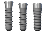 Different types of dental implants