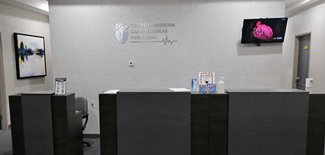 Monterrey Cardiology clinic lobby