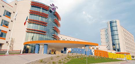 Monterrey neurosurgery clinic entrance