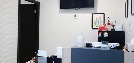 Monterrey neurosurgery clinic lobby