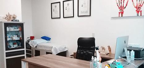 Monterrey neurosurgery clinic station