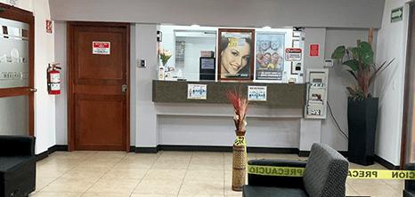 Nogales dental clinic lobby