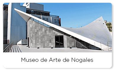Main entrance of the Art Museum of Nogales