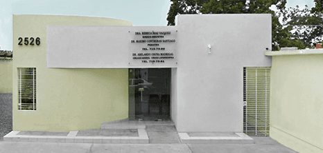 Nuevo Laredo bariatric clinic entrance