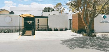 Nuevo Laredo Gynecology clinic entrance