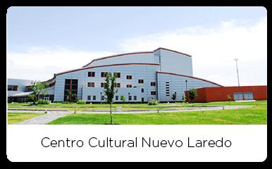 Front view of the Centro Cultural Nuevo Laredo