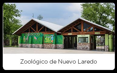 Main entrance of the Nuevo Laredo Zoo
