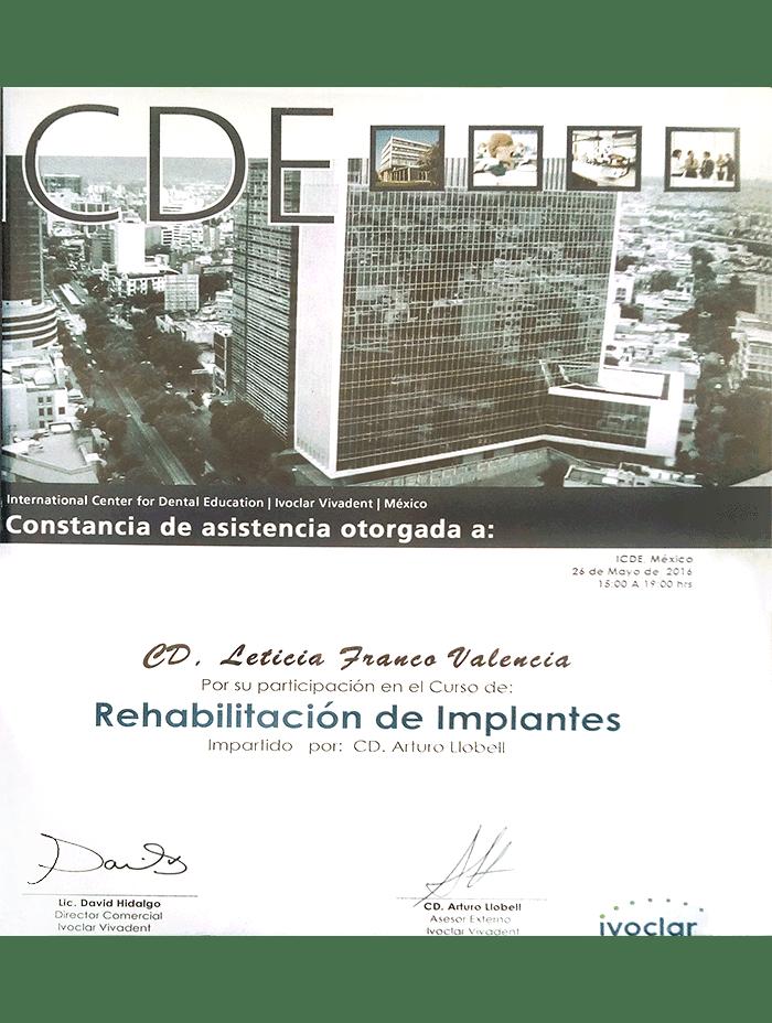 Oaxaca dentist certificate