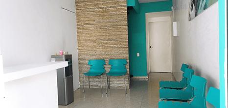 Oaxaca dental clinic lobby