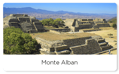 Archeological site of Monte Alban