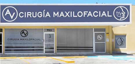 Piedras Negras maxillofacial clinic entrance