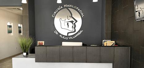 Piedras Negras dental clinic lobby