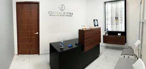 Queretaro ophthalmologic clinic lobby