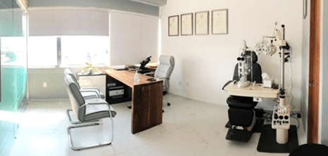 Queretaro ophthalmologic clinic station
