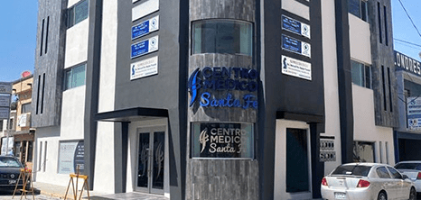 Reynosa ophthalmologic clinic entrance