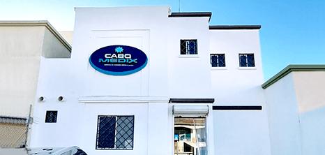 Los Cabos bariatric clinic entrance