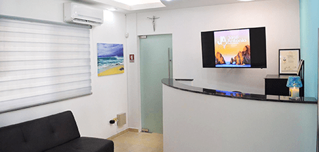 Los Cabos dental clinic lobby