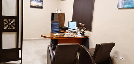 Los Cabos Urology clinic lobby