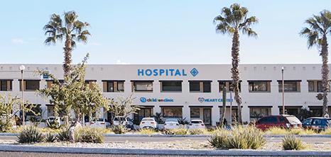 Los Cabos Hospital entrance