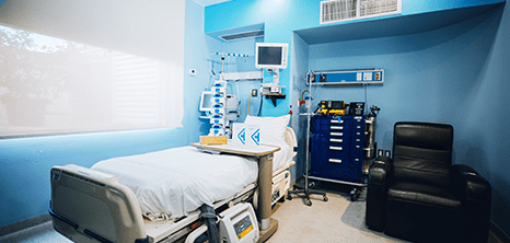 Los Cabos Hospital surgical station